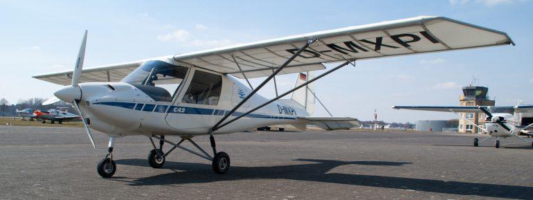 Comco Ikarus C42 B D Mxpi Air Stadtlohn Flugbetriebs Gmbh